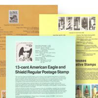 USPS Souvenir Pages